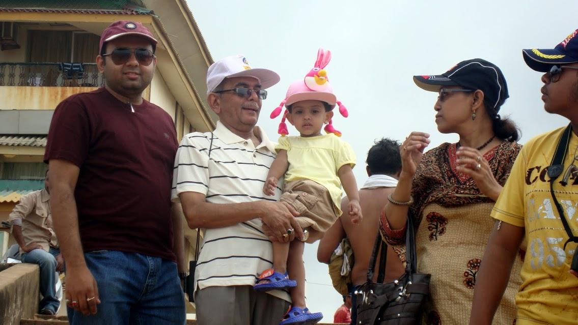 at Calangut beach